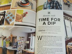 Crumbs magazine featuring our Chicken tea cosy