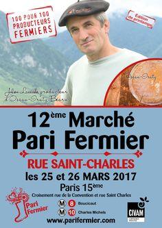 12ème marché Pari Fermier rue Saint Charles (15ème)