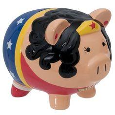 Wonder Woman Ceramic Bank  :0 eeeeeeeeeee!