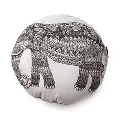 Look what I found at UncommonGoods: Elephant Pillow for $32 #uncommongoods