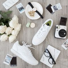 All white everything  All you need is a pair of Classics to make that  perfect fashion statement. Reebok 2eeb7de4c