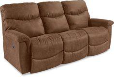 James La-Z-Time® Full Reclining Sofa by La-Z-Boy