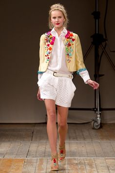 Moschino Cheap and Chic Spring 2011