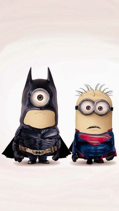 Bat minion and super minion clash! Lol