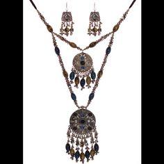 Fine Jewelry Pear Drop 925 Sterling Silver Ear Wire Earring Pendant Set For Women's Jewelry Without Return