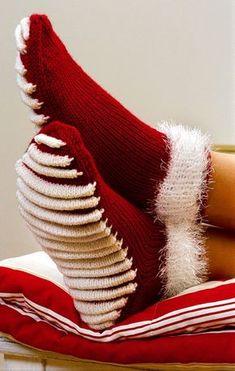 Socken mit Massagesohle - kostenlose Strickanleitung