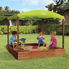 Sandbox with Canopy by One Step Ahead - easier to just buy?