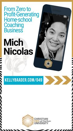Homeschool Coaching with Mich Nicolas - Kelly Baader Lead Generation, Real People, Text Messages, Online Business, Coaching, Investing, Homeschool, How Are You Feeling, Faith