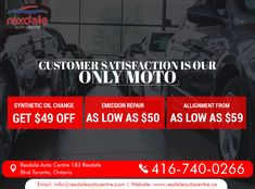At Rexdale Auto Centre, Service is Our & We to Get - Advertising Plan, Marketing And Advertising, Do What You Want, How Do I Get, Auto Repair Estimates, To Do Checklist, Asking The Right Questions, Car Repair Service, Everybody Else