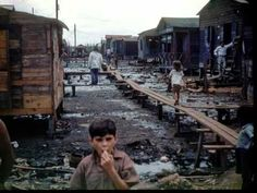 Pobreza en Puerto Rico (fotos entre 1940-1955)