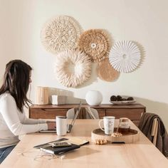 Discover the In the Woods decor trend at Maisons du Monde and stock up on ideas for your home. Hallway Furniture, Small Furniture, Living Room Decor, Bedroom Decor, Wall Decor, Dining Room Bench Seating, Decorative Storage Boxes, Baskets On Wall, Bohemian Decor