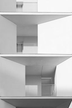 * modern architecture, white, facades*