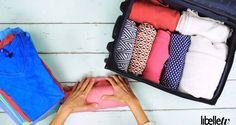 Zo past er meer kleding in je vakantiekoffer