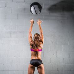 Upgrade your strength training routine by throwing in these medicine ball exercises recommended from trainers around the country. With the use of this training tool, you can upgrade your burpees, planks, squat presses, and other exercises for a more chall Michelle Lewin, Muscle Fitness, Fitness Tips, Fitness Workouts, Fitness Men, Health Fitness, Weight Lifting, Weight Loss, Lose Weight