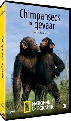 DVD Chimpansees in Gevaar | Jane Goodall Institute Netherlands