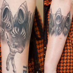 Harry potter tattoos on pinterest harry potter tattoos for Famous tattoos fort myers