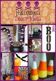 Halloween Decor Ideas {Roundup}