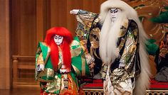 Two traditional Japanese theatrical art forms - kabuki and noh - will be presented on the same stage tonight when Japan Theater, a production helmed by renowned kabuki actor Ebizo Ichikawa XI, opens at Marina Bay Sands.