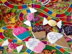candyland party decorations props | ... Creations is offering your choice of candy land inspired fake cookies