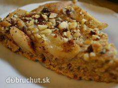 Fotorecept: Výborný špaldový koláč - Koláč môžete robiť aj z klasickej múky a z hocakého ovocia.