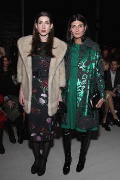 Giovanna Battaglia Photos: TRESemme at Erin Fetherston - Front Row/Backstage - Mercedes-Benz Fashion Week Fall 2015