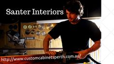 Custom Made Furniture and Cabinets by Cabinet Maker Santer interiors