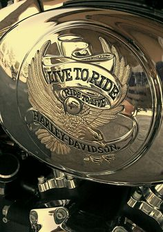 Live to Ride, Ride to Live. Harley-Davidson