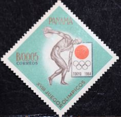 Panama (02) 1964 Olympic Games - Tokyo, Japan