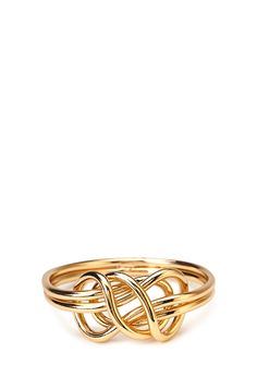 Lovely Knot Bangle | FOREVER21 Knotty bracelet #Accessories #MustHave #Cute
