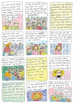 """Roz Chast: """"Can't We Talk About Something More Pleasant?"""" 