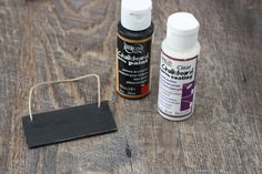 Chalkboard Tags Tutorial: How To Make Inexpensive DIY Tags