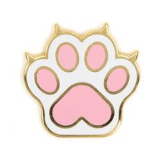 Cat Paw Enamel Pin by TheseAreThings on Etsy