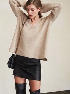 Every girl needs a proper mini skirt. It's just facts. The Wilcox Skirt. https://www.thereformation.com/products/wilcox-skirt-halen?utm_source=pinterest&utm_medium=organic&utm_campaign=PinterestOwnedPins
