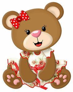 Clipart Baby, Bear Clipart, Cute Clipart, Tatty Teddy, Scrapbook Bebe, Baby Shawer, Baby Clip Art, Image Clipart, Bear Cartoon