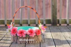 Moana Themed Easter Basket