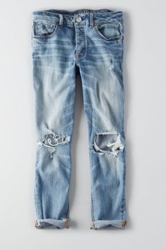 Tomgirl Jean, Blown Out Blue   American Eagle Outfitters