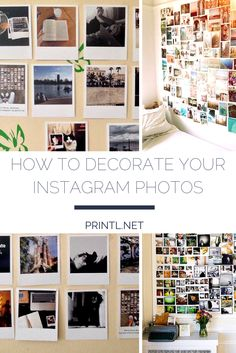 How to decorate your Instagram prints #instagram #polaroid #prints Instagram Prints, Diy Photo, Your Photos, Polaroid, Interior Decorating, Photo Wall, Craft Ideas, Decoration, Business