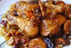 Esta es otra receta de mi admirado Chef José Andrés, basada en la tradición catalana de cocinar la carne con frutos secos. Es un guiso que s... Chicken Wings, Carne, Slow Cooker, Meat, Food, Crock Pot, Salads, Dishes, Crockpot