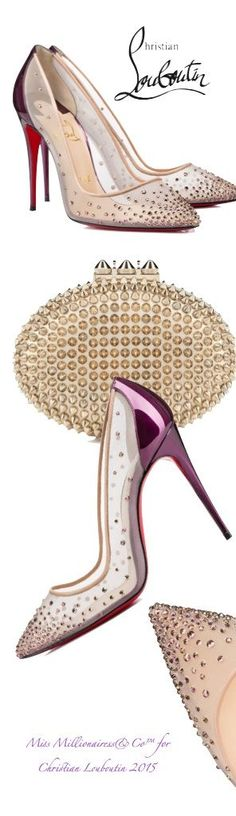 Christian Louboutin 2015 - Follies Strass #Christianlouboutin #shoes