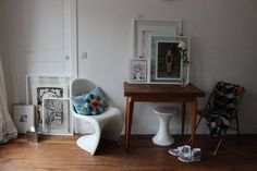 Kim's Petite Perch in Montmartre — House Call | Apartment Therapy