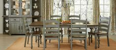 Distinguish your dining room with the simply elegant Progressive Colonnades Collection Rectangular Dining Table . Modeled after traditional farmhouse. Farmhouse Style Furniture, Farmhouse Dining Room Table, Farmhouse Style Table, Dining Room Hutch, Dining Room Sets, Dining Room Chairs, Dining Room Furniture, Dining Table, Find Furniture