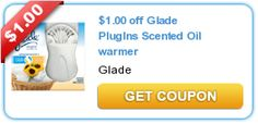 Coupons: $1/1 Glade PlugIns Scented Oil Warmer (Printable Coupon) – FREE at Stores