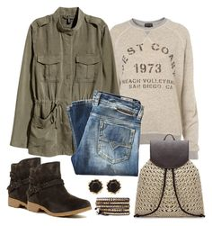 """""""Untitled #1173"""" by gallant81 ❤ liked on Polyvore featuring Diesel, Teva and Sam Edelman"""