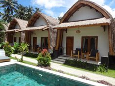 Bungalow in Mangsit, Indonesia. TERAS LOMBOK BUNGALOW, located off the main Mangsit road, offers you comfort and satisfaction during your holiday time or travels. We are in a small village, surrounded by towering hills, with the beach just a 5 minute walk away.  We have 5 Bungal...