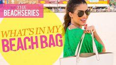 What's in My Beach Bag: Beach Series