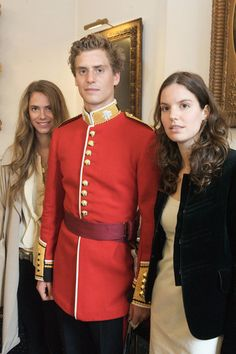 Princess Maria-Anunciata, Prince Josef-Emanuel and Princesses Marie-Astrid of Liechtenstein, children of Prince Nikolaus of Liechtenstein and Princess Margaretha of Luxembourg.