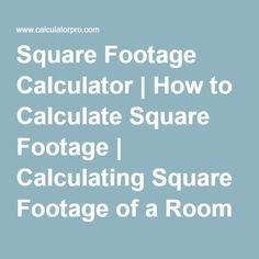 How Do I Find The Square Footage Of A Building How To