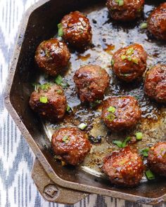 Jamaican Jerk Beef Meatballs - Ev's Eats If you're looking for a fun and spicy twist to liven up mea Jamaican Cuisine, Jamaican Dishes, Jamaican Recipes, Jamaican Appetizers, Jamaican Desserts, Meatball Recipes, Beef Recipes, Cooking Recipes, Healthy Recipes