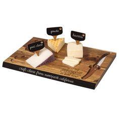 Rebel 6 Piece Cheese Board Set