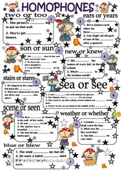 Homophones 4th grade This would be great to apply to the classroom. Students would like it because its colorful. It would work well in the classroom because its a useful skill that students struggle with.